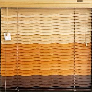 giá rèm màn sáo gỗ