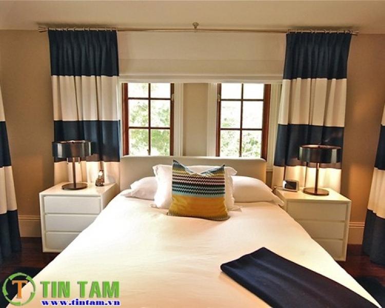màn cửa phòng ngù, man phong ngu, màn cửa cho phòng ngủ, rèm phòng ngủ, rèm phòng ngủ đẹp