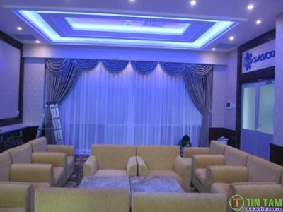 Giấy dán tường, rèm cửa phòng hội nghị sân bay Tân Sơn Nhất
