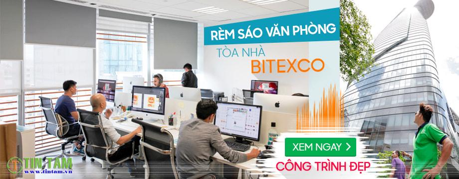 Công trình rèm sáo văn phòng tòa nhà Bitexco quận 1