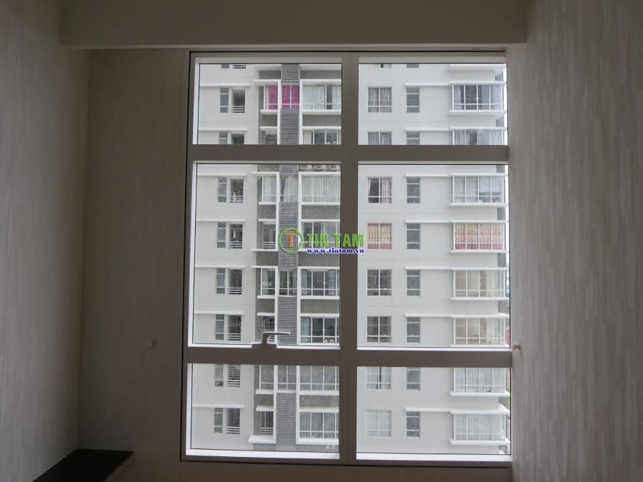 Giấy dán tường đẹp phòng ngủ căn hộ  sang trọng