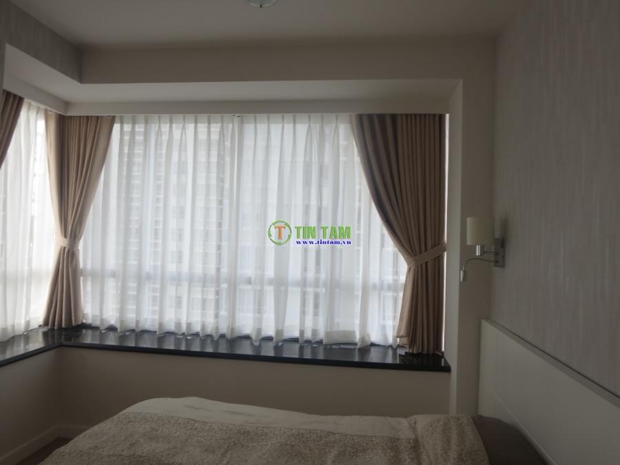 Rèm màn cửa đẹp sang trọng cho căn hộ cao cấp