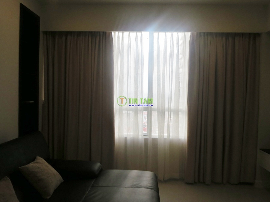 Rèm vải chống nắng cho căn hộ cao cấp tại quận 7 tphcm